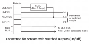Ex-Or MLS Relay Sensor Connection